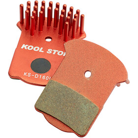 Kool Stop Disc Aero Brake Pads Magura MT2/MT4/MT6/MT8 red